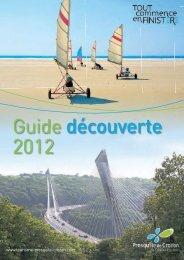 Guide découverte 2012 - Office du tourisme de l'Aulne et du Porzay