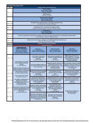 ASPR 2011 Program - International Conferences and Events