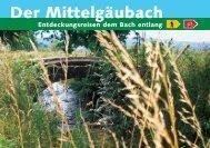 Der Mittelgäubach - Kanton Solothurn