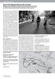 Durchs Reppischtal PDF - Pro Velo - Winterthur