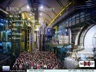 LHCb Status Report - CERN