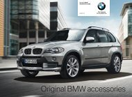 Original BMW accessories - Cooper BMW Parts, Inchcape