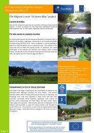 ECF EuroVelo3 Pilgrim's Route Newsletter 2011/2