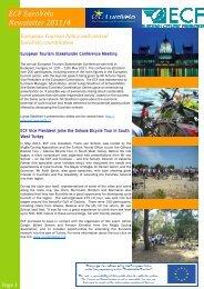 ECF EuroVelo Newsletter 2011/4
