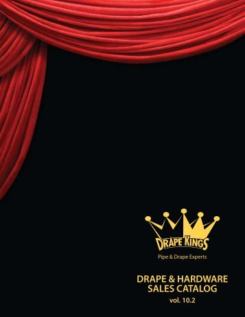 DRAPE & HARDWARE SALES CATALOG - Drape Kings