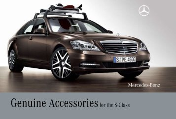 Genuine Accessories for the S-Class - Three Point Motors Nanaimo