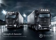 Strength of character - Mercedes-Benz
