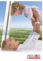 GEBORGEN WOHNEN. - Reuss Security Systems GmbH