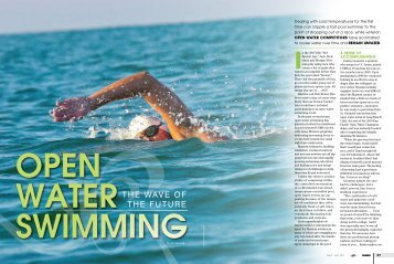 Open Water SWimming - swimmer