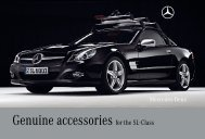 Genuine Accessories for the SL-Class - Mercedes-Benz UK