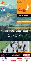 1. slowUp Emmental - slowUp Emmental-Oberaargau