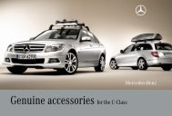 Genuine Accessories for the C-Class - Mercedes-Benz Accessories ...