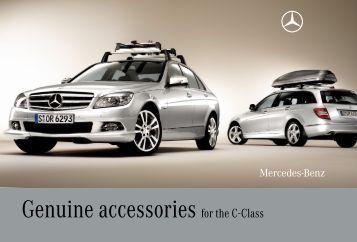 Genuine accessories for the e class mercedes benz canada for Accessories for mercedes benz c class