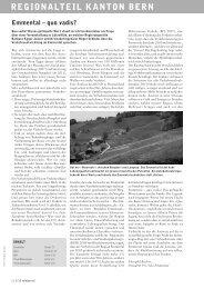 Velojournal 1/2012 - Pro Velo Kanton Bern