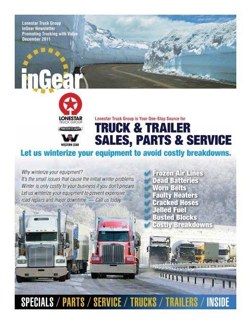 Truck Trailer Sales Parts Service Freightliner