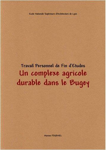 Un complexe agricole durable dans le Bugey - Architecture ...