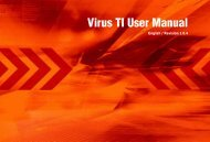 Virus TI User Manual - peter boda