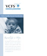 glossary - Velo-Cardio-Facial Syndrome Educational Foundation