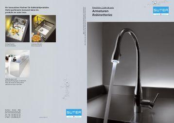Armaturen Robinetteries - Suter Inox AG