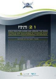 21 cycling tour - Velo-city 2009