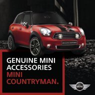 genuine mini accessories MINI Countryman. - N. Conlan & Sons
