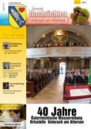 (2,29 MB) - .PDF - Unterach am Attersee - Land Oberösterreich