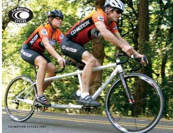 CO-MOTION CYCLES 2007 - Velo TransAtlantique