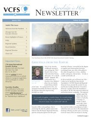 newsletter - Velo-Cardio-Facial Syndrome Educational Foundation
