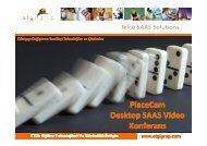 PlaceCam Desktop SAAS Video Konferans - etgi grup