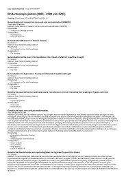 Onderzoeksprojecten (2000 - 2500 van 5203)
