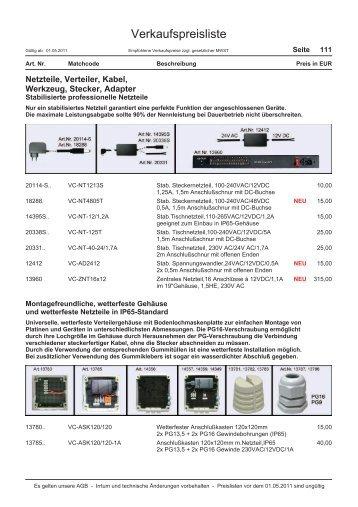 Netzteile,Verteile, Kabel, Werkzeug, Stecker, Adapter