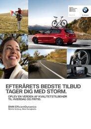 efterårets bedste tilbud tager dig med storm. - BMW Danmark
