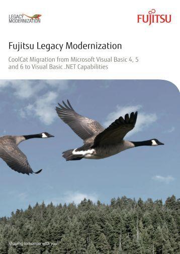 Fujitsu Legacy Modernization - CoolCat Migration from Microsoft