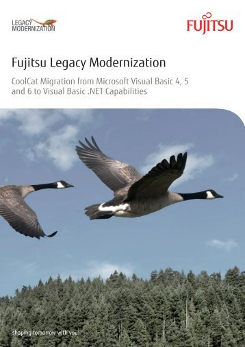 Fujitsu Legacy Modernization - CoolCat Migration from Microsoft