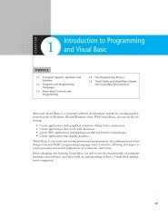 Introduction to Programming and Visual Basic
