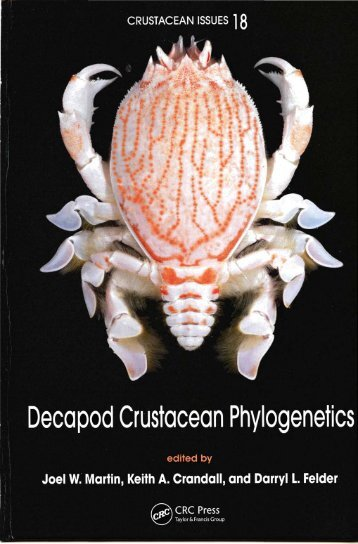 Decapod Crustacean Phylogenetics - AToL Decapoda