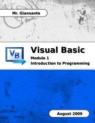 VB Module 1 - Introduction.pub - Lincoln