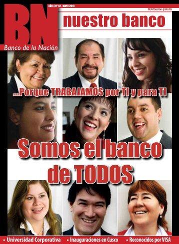 Más canales de atención en todo el Perú - Banco de la Nación