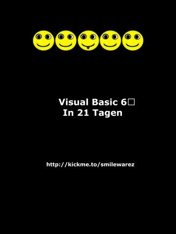 Visual Basic 6 in 21 Tagen