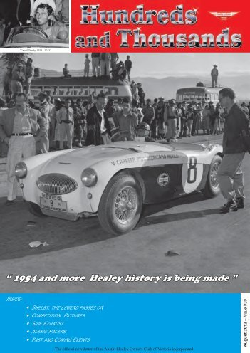 August - Austin Healey Owners Club