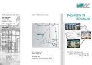 WOHNEN IN BOCHUM - VBW Bauen und Wohnen GMBH