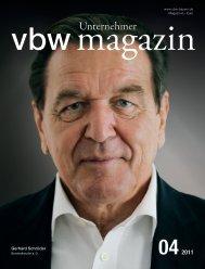 Gerhard Schröder - Vereinigung der Bayerischen Wirtschaft