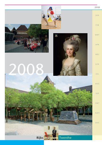 RMT Jaarverslag 2008 - Rijksmuseum Twenthe
