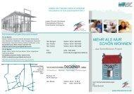 VBW-SicherWohnen-Projekt - VBW Bauen und Wohnen GMBH