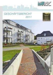 GESCHÄFTSBERICHT 2011 - VBW Bauen und Wohnen GMBH