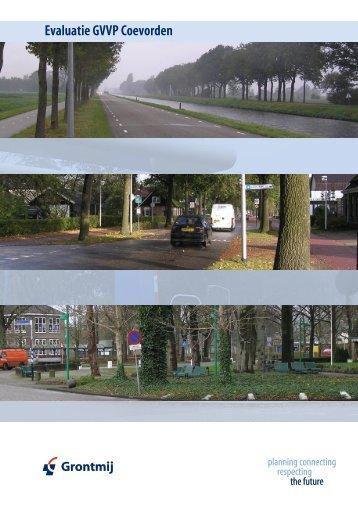 Evaluatie GVVP 2006 - Gemeente Coevorden