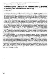 Verbreitung und Ökologie der Weberknechte - Oberösterreichisches ...