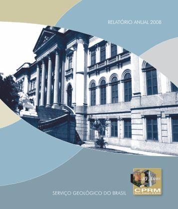 RELATÓRIO ANUAL 2008 - CPRM