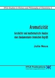 Aromatizität: Geschichte und mathematische Analyse eines ... - Hyle