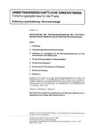 AWE 104 - Bundesanstalt für Arbeitsschutz und Arbeitsmedizin